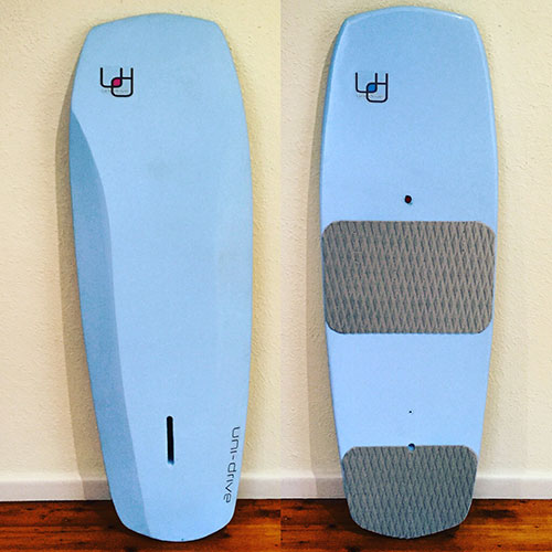 Uni-Drive I Surf board repair, Moses Hydrofoils for Kitesurfing I